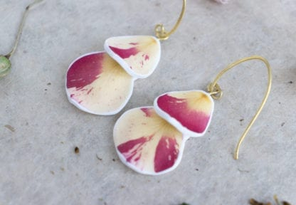 Real Rose Petals - Botanist In Love Jewelry