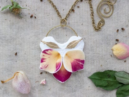 Botanist In Love Real Rose Jewelry